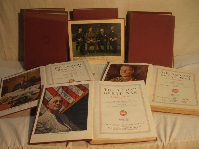 Nine volumes entitled the Second Great War,