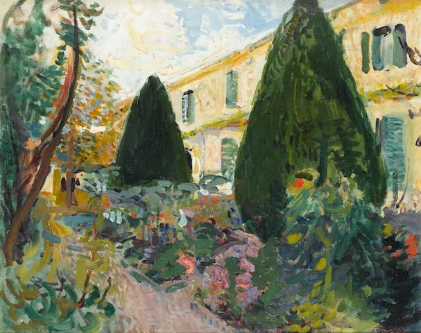 Jean-Franck Baudoin (French, 1870-1961) Maison de vacances