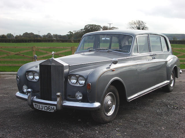By order of the Executors of the late Peter Smith-Stafford,1969 Rolls-Royce Phantom VI Seven Passenger Limousine  Chassis no. PRH 4560 Engine no. 4560