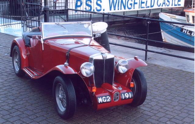 1933 MG K2 Magnette,