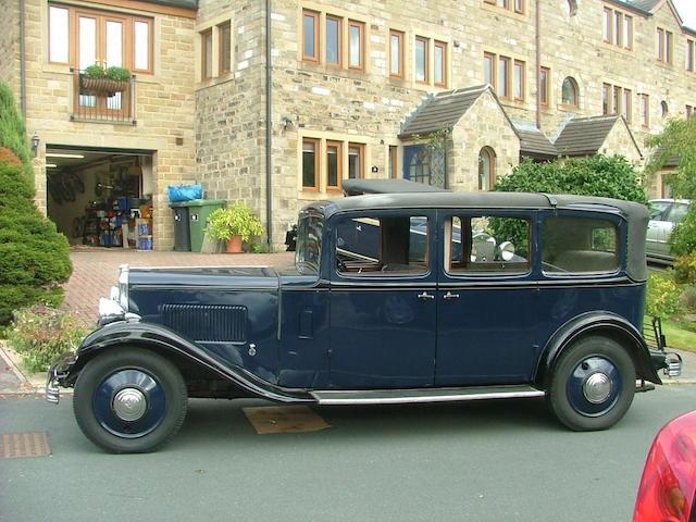 1932 Austin Twenty Landavlet,