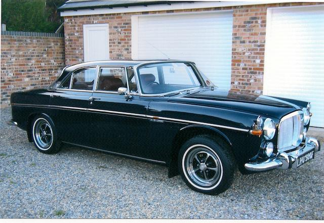 1968 Rover 3.5-Litre P5B Coupé  Chassis no. 84500430A Engine no. 84001257A
