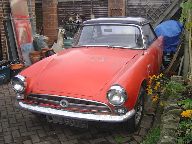 1967 Sunbeam Alpine,