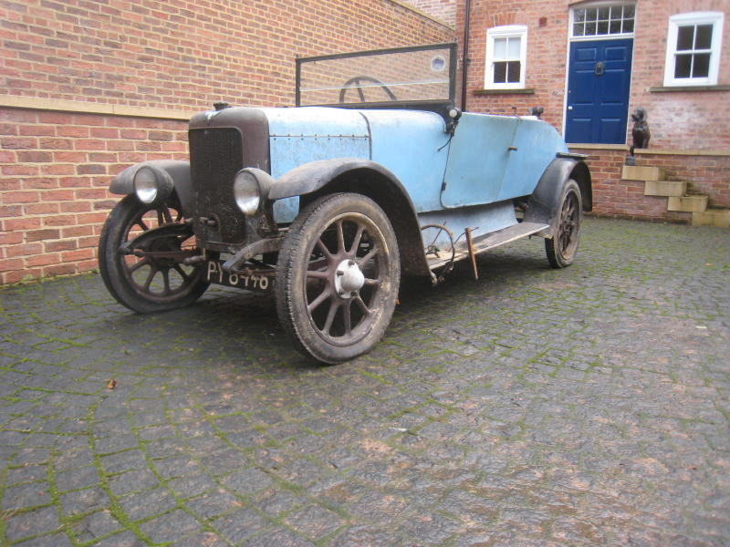 1928 Jowett 7hp Two Seater and dickey  Chassis no. 822951