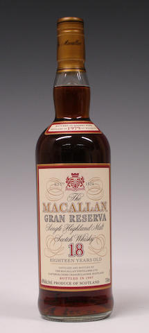 Macallan Gran Reserva-18 years old-1979