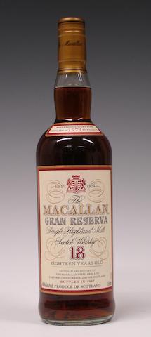 Macallan Gran Reserva-18 years old-1979