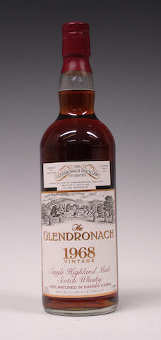 The Glendronach- 25 year old-1968