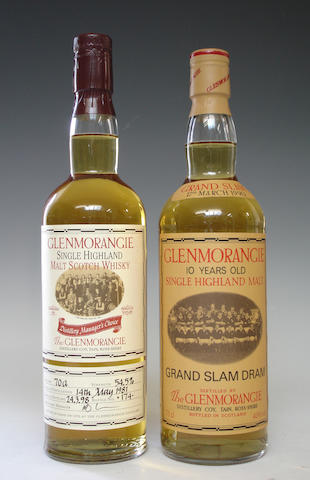 Glenmorangie Distillery Managers Choice-1981Glenmorangie Grand Slam Dram-10 year old