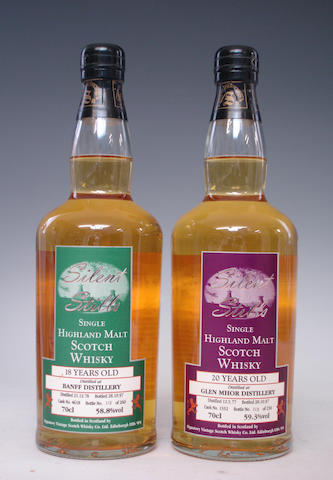 Banff-18 year-old-1978Glen Mhor-20 year old-1977