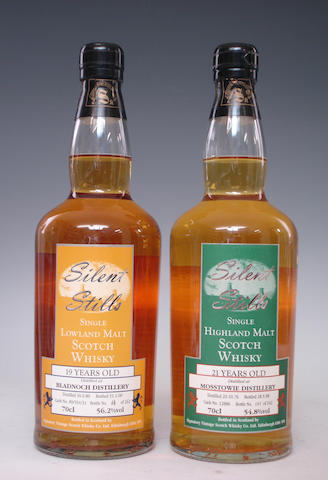 Bladnoch-19 year old-1980  Mosstowie-21 year old-1976