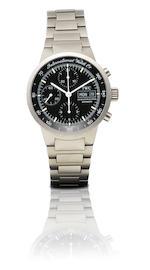 IWC. A fine titanium automatic chronograph with calendar wristwatchGST Chrono, Ref: 3707, Case No. 2655500, Circa 2000