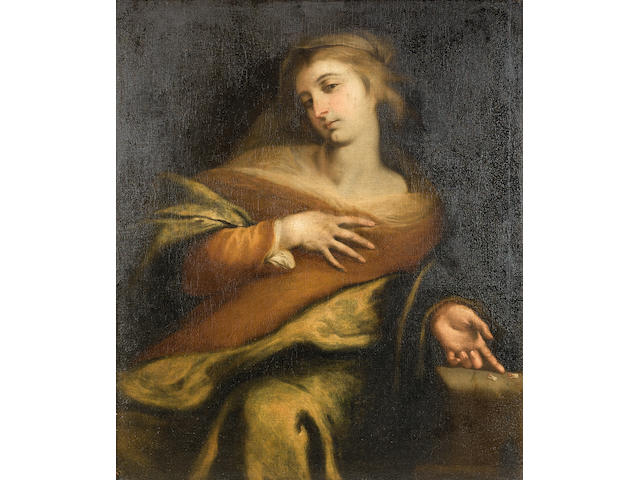 English School, 18th Century Saint Apollonia