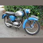 1967 BSA 172cc Bantam D7 Frame no. D7 7018 Engine no. GD7 7018