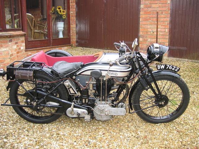 1924 Norton Model 24,