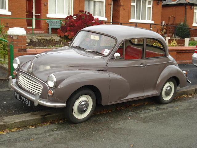 1970 Morris Minor 1000,