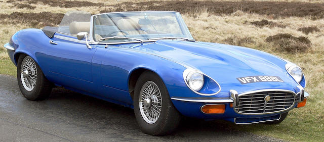 1973 Jaguar E-Type Series III V12 Roadster  Chassis no. 1S.1798 Engine no. 7S.11375.SA