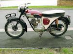 1962 Triumph 200cc Tiger Cub Frame no. T78245 Engine no. T20 78245