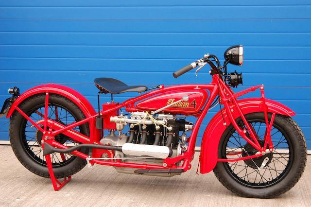 c.1930 Indian Model 402 Four Engine no. B4490