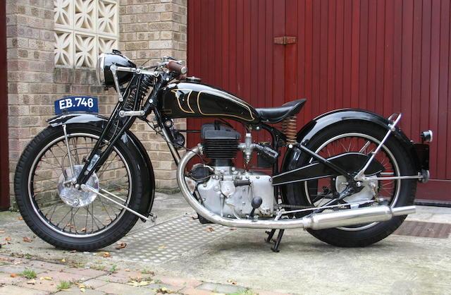 1938 FN 500cc Model M11 'Super Touring' Frame no. 6313 Engine no. 6102