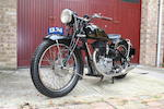 1938 FN 500cc Model M11 'Super Touring' Frame no. 6313 Engine no. 6102