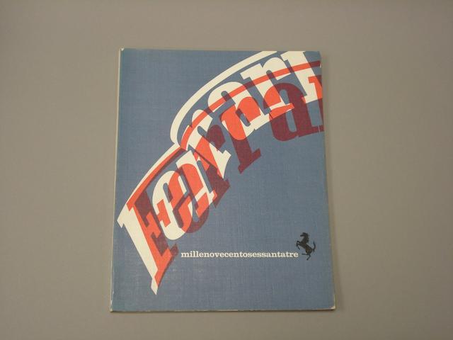 A 1963 Ferrari Yearbook,