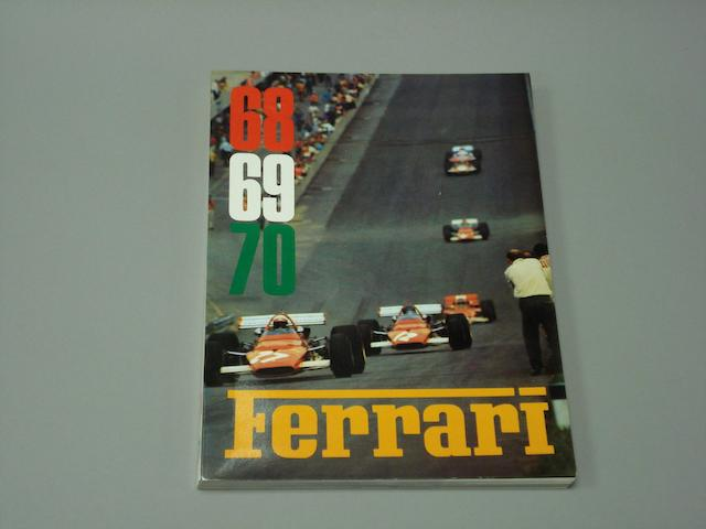 A 1968, 1969 and 1970 Ferrari Yearbook,