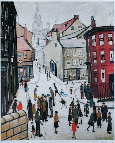 Laurence Stephen Lowry, R.A. (British, 1887-1976) 'Berwick-upon-Tweed',