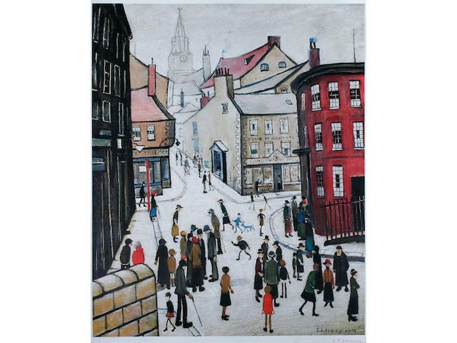 Laurence Stephen Lowry, R.A. (British, 1887-1976) 'Berwick-upon-Tweed',