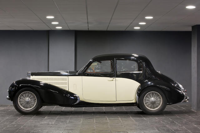 No reserve, 1937 Bugatti type 57C Berline