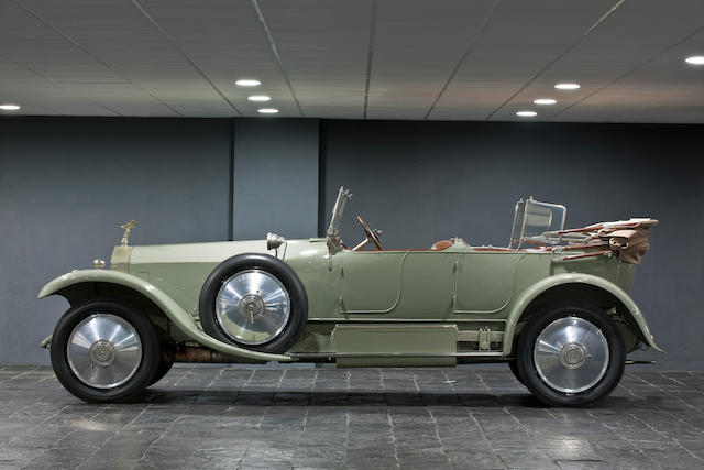 1920 Rolls Royce Silver Ghost Tourer double phaeton by Barker,
