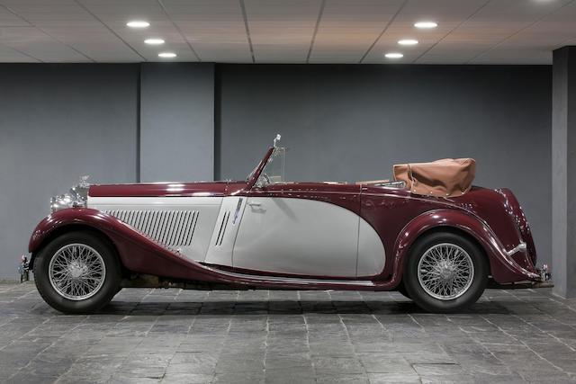 No reserve, 1935 Bentley 3½-Litre Drophead Coupé  Chassis no. B53CW