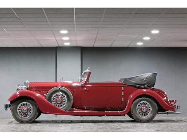 1932 Horch 853 cabriolet