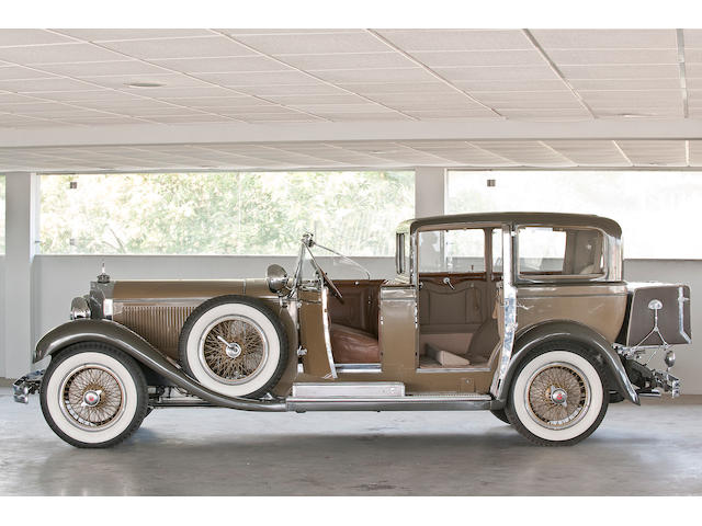 1929 Mercedes-Benz 630K Coupe Chauffeur by Castagna,
