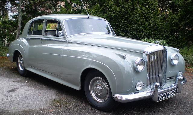 1958 Bentley S1 Standard Steel Saloon  Chassis no. B247EK Engine no. BE448