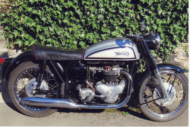 1957 Norton 497cc Dominator 88 Frame no. M122 73415 Engine no. M122 73415