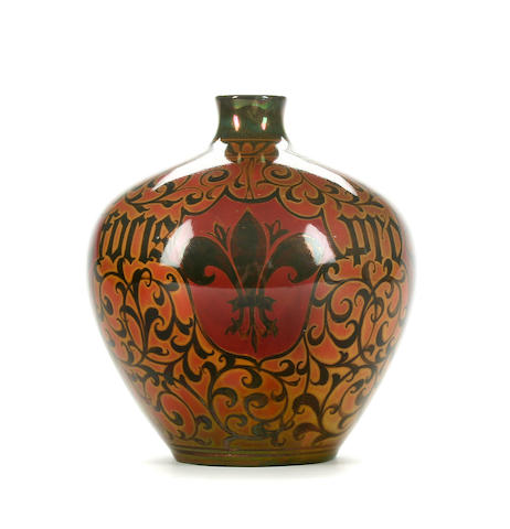 A Pilkingtons Royal Lancastrian vase by William S. Mycock Circa 1910