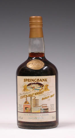 Springbank Local Barley- 1966