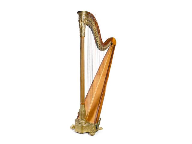 A Grecian Thomas Dodd Harp (2)