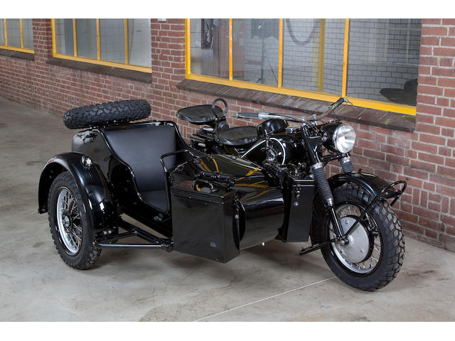 1942 BMW R75 Luftwaffer,