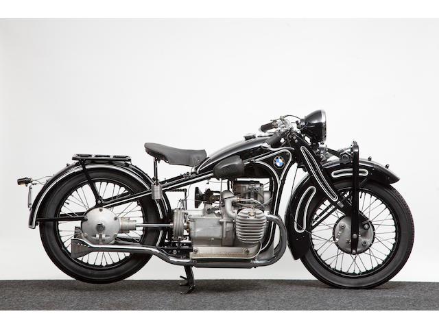 1930 BMW 735cc R11  Frame no. P6941 Engine no. 69202