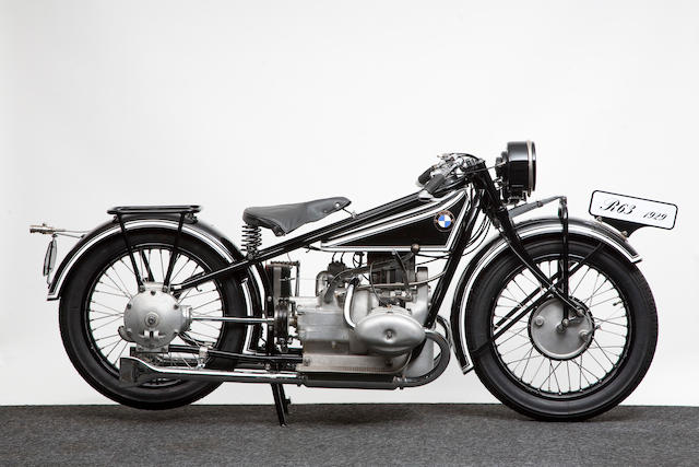 1928 BMW 736cc R63 Frame no. 23712 Engine no. 75879