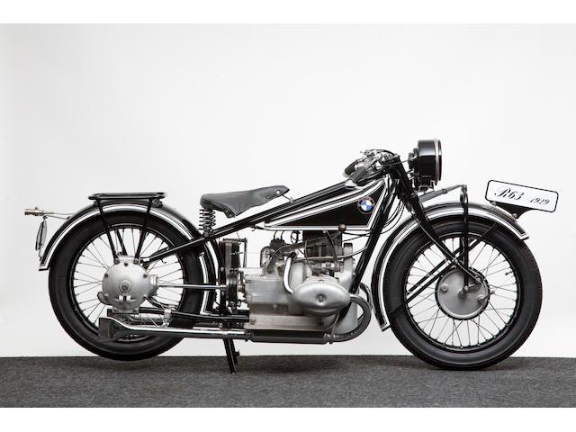 1928 BMW 736cc R63 Frame no. 23712 Engine no. 75879