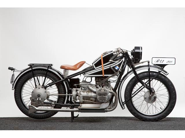 1927 BMW 494cc R42  Frame no. 14534 Engine no. 41253