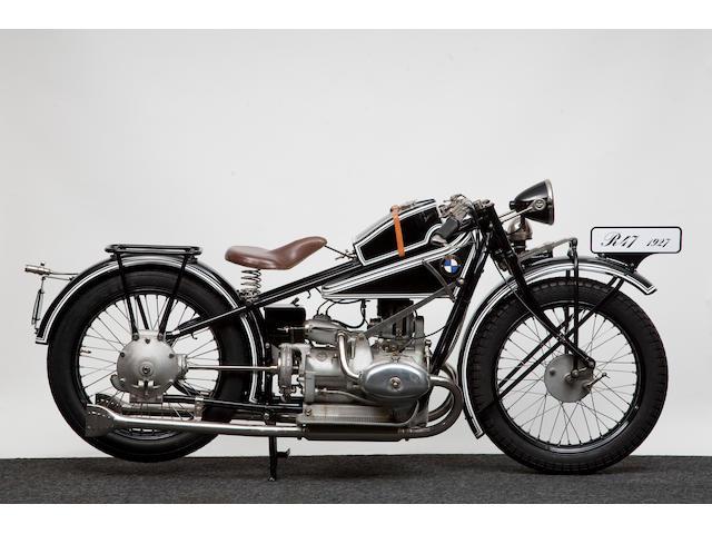 1927 BMW 494cc R42/47 (see text) Frame no. 14332 Engine no. 35444
