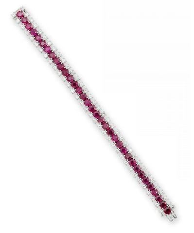 dodobird1A ruby and diamond bracelet