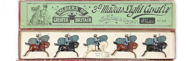 Britains set 45, 3rd Madras Light Cavalry 5