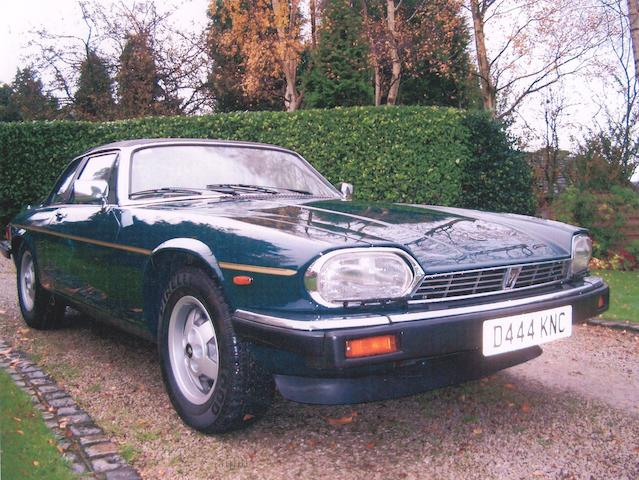 Formerly the property of Eamonn Holmes,1986 Jaguar XJ-S V12 Cabriolet  Chassis no. SAJJNACW3CC127582