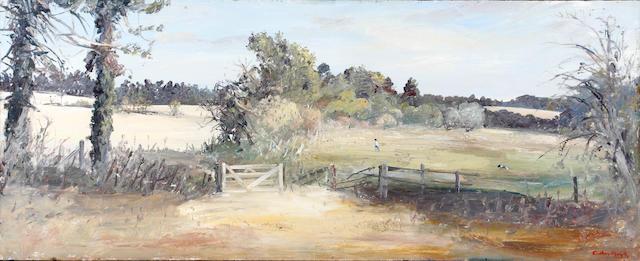 Arthur Boyd (Australian, 1920-1999) Gateway, Ramsholt