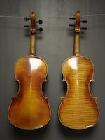 A small size German Violin, circa 1900 (2)