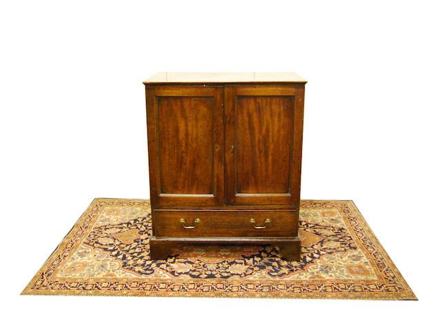 A George III mahogany cabinet